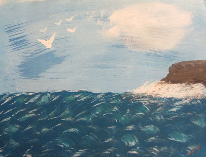 Sea coast - Marilyn Kline