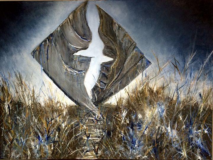 L'albatros - Ginette Malouin Visual artist