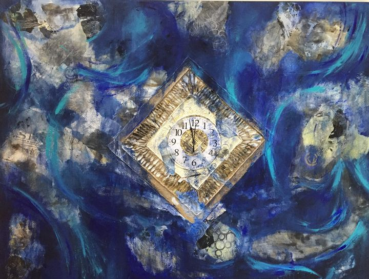 Clock is ticking... - Ginette Malouin Visual artist