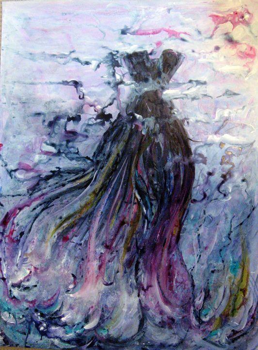 Dream of an evening dress - Ginette Malouin Visual artist