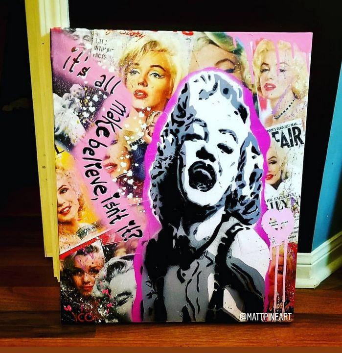 Marilyn - MattPineArt