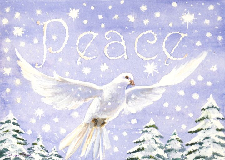 Peace - Paintings by Diana V Brown
