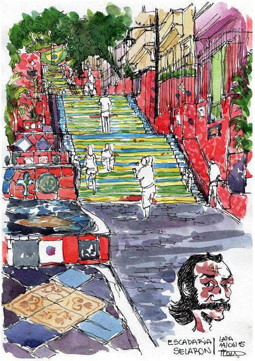 Escadaria Sélaron - Thais Machado