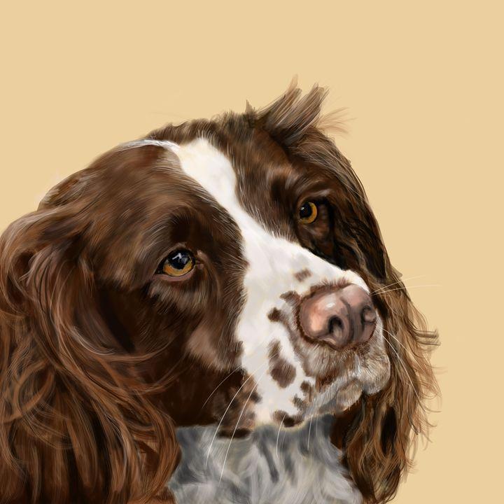 Springer Spaniel - Dogone Art