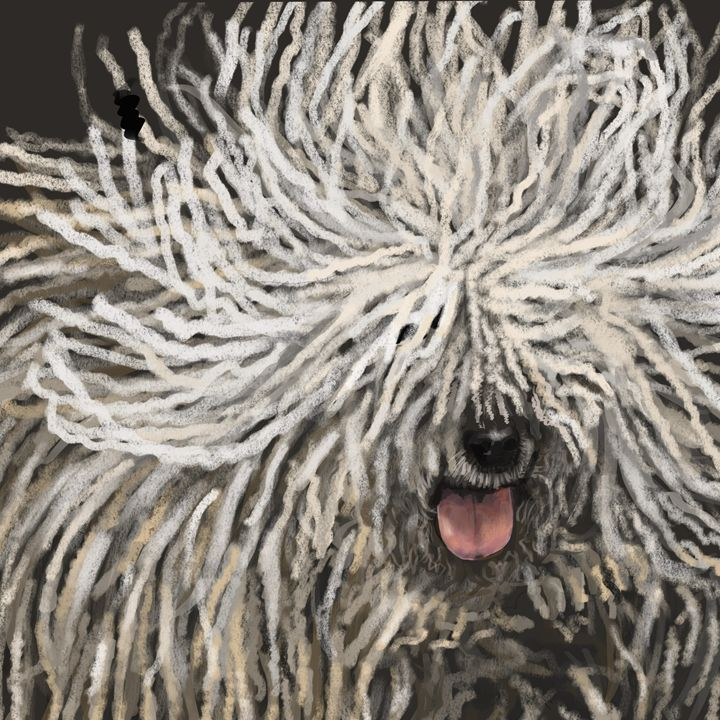 Komondor - Dogone Art