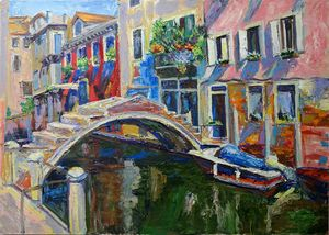 Walk in Venice - Churyukinaartgallery