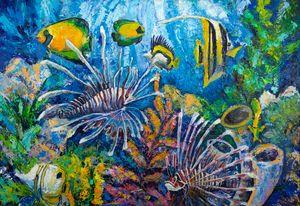 The underwater world - Churyukinaartgallery