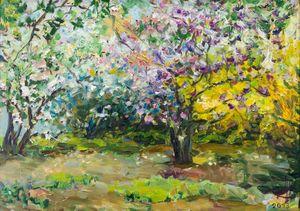 Magnolias - Churyukinaartgallery