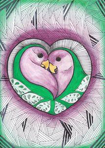 Lovebirds - Mina Nautilus