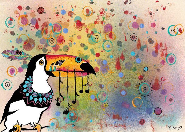 Toucan truths - Mina Nautilus