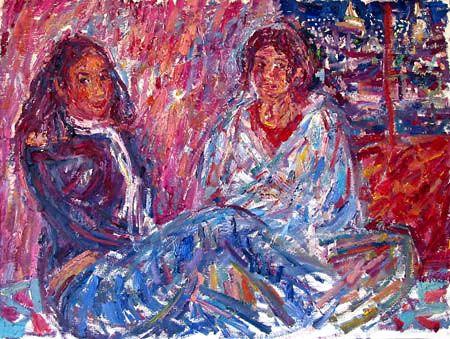 TWO GIRLS FROM VERACRUZ - karabchievsky