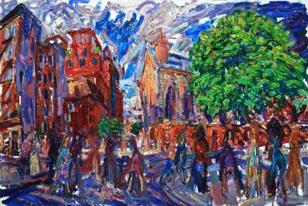 SPRING IN NEW-YORK - karabchievsky
