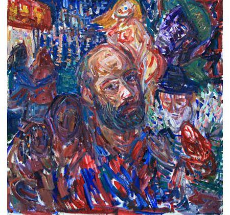 SELF-PORTRAIT IN NEW-YORK - karabchievsky