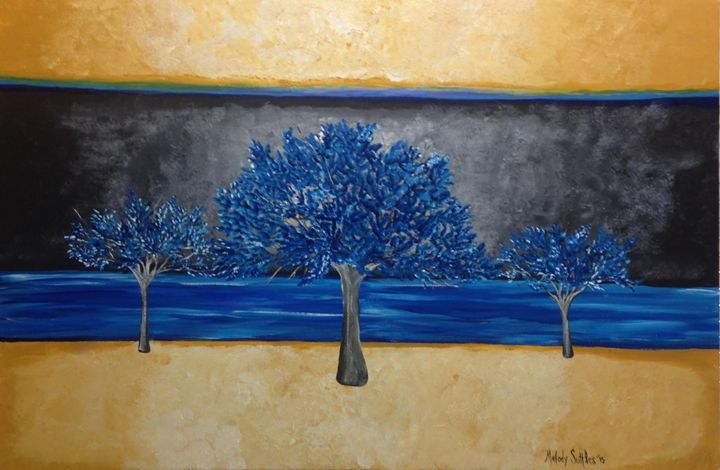 Blue Trees 2 - Melody Taylor Suttles
