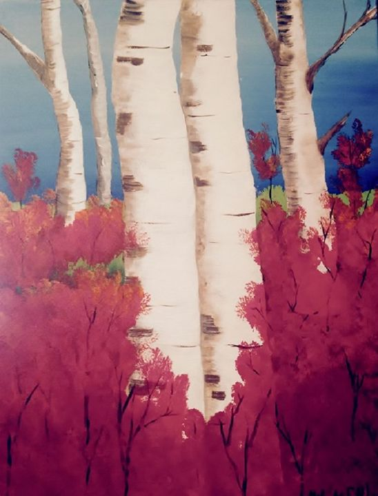 Birch Trees - Melody Taylor Suttles