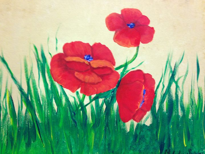 Poppies - Melody Taylor Suttles