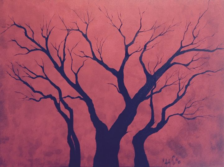 Red Chinese Plumb Tree - Melody Taylor Suttles