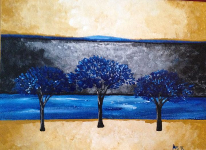 Blue Trees - Melody Taylor Suttles