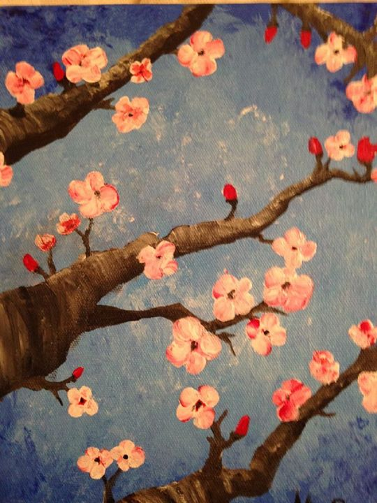 Cherry Blossoms - Melody Taylor Suttles
