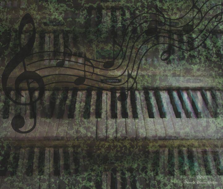 Keyboard - Pamula Reeves-Barker Art