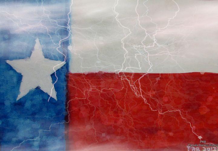 Texas Storm - Pamula Reeves-Barker Art