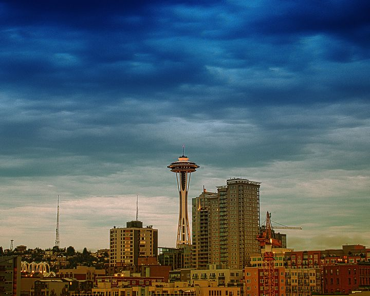 Seattle - Needle Tower - Kreativelens