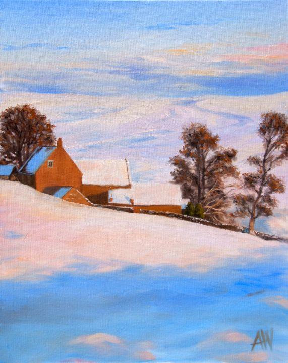 Winter on the North Yorkshire Moors - Antony Wootten