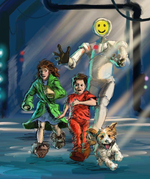 Fleeing the Robot - Antony Wootten