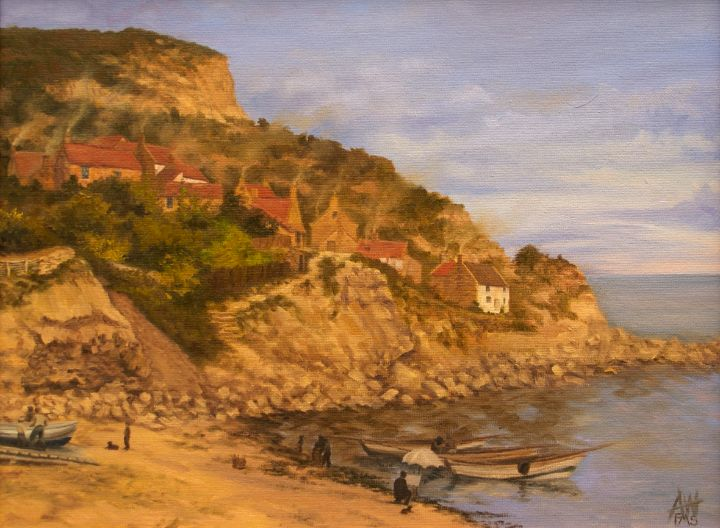 Victorian Staithes - Antony Wootten