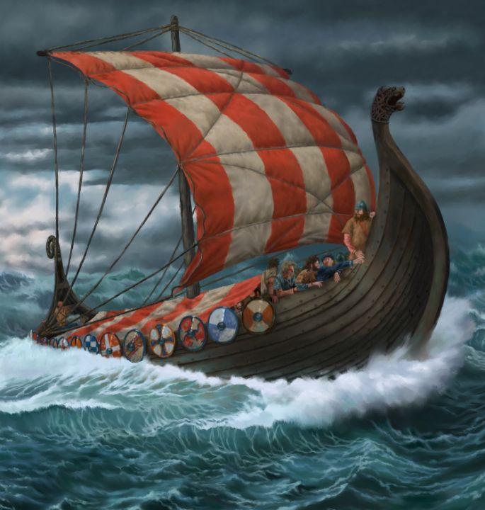 Viking Ship - Antony Wootten