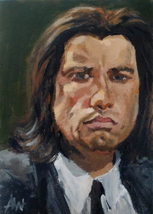 John Travolta as Vince - Antony Wootten