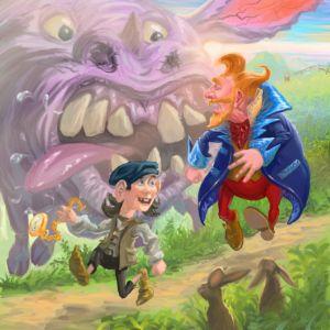 Naughty and the Beast - Antony Wootten