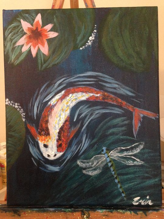 Koi Fish - Erin Alexander