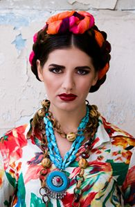 Frida Style Photo