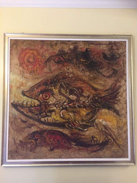 Laut Tandus by Affandi - MHR Nusantara Art