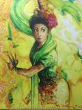 Jaipong Dance Indonesia. Taja