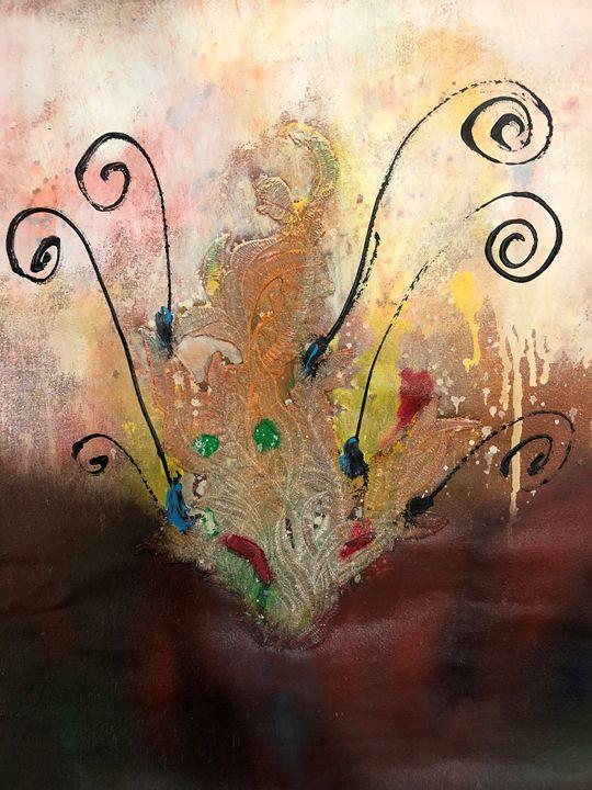 Bunga Emas - MHR Nusantara Art