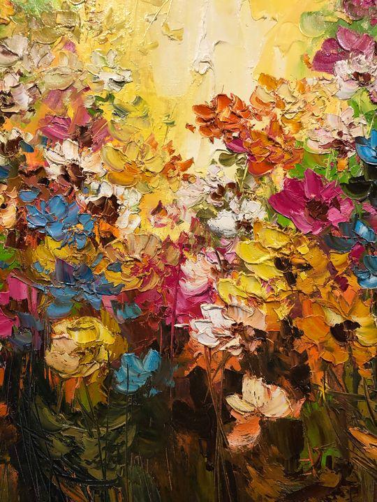 Bali Flowers1 - MHR Nusantara Art