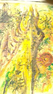 Toiling under the Sun by Affandi