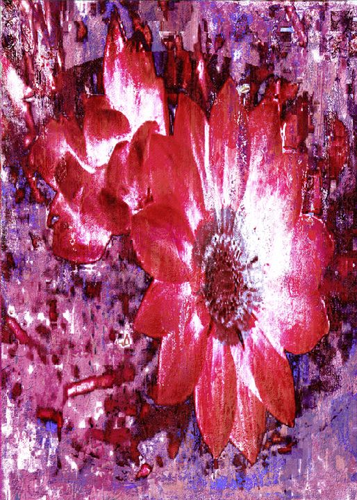 Pink Flowers - DreamBeyondArt