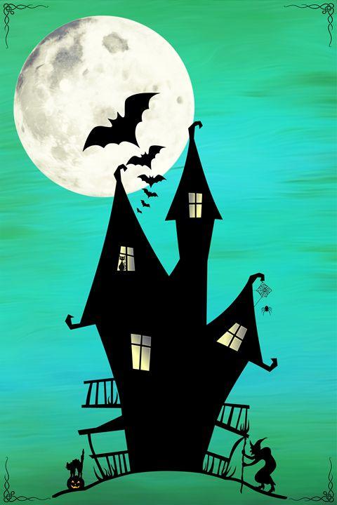 Haunted House - DreamBeyondArt
