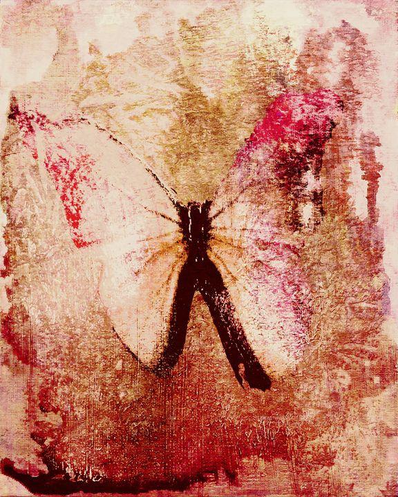 Pink Butterfly - DreamBeyondArt