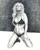 Original pen & ink drawing