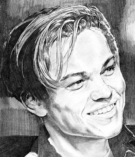 Leo Dicaprio from Titanic - Karen Charles Stidham