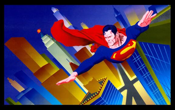 Superman on patrol - Karen Charles Stidham