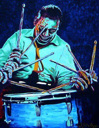 Buddy Rich Drummer - Karen Charles Stidham