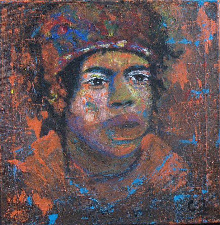 Jimi Hendrix - crina