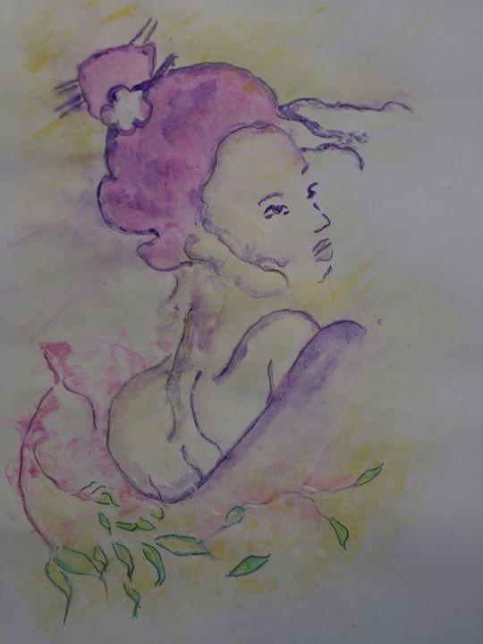 Portrait Of A Gheisha - crina