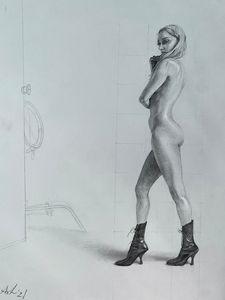 Chloe Sevigny Figure Study