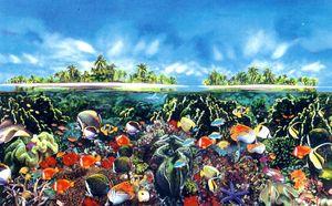 Tahitian Black Pearl Reef